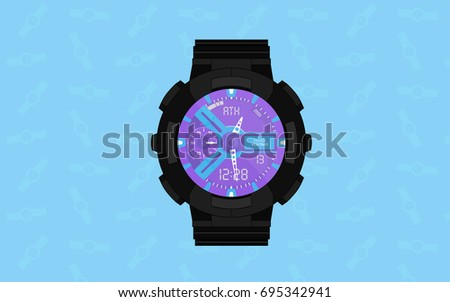male or female wristwatch on