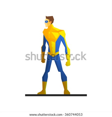male superhero wearing a mask