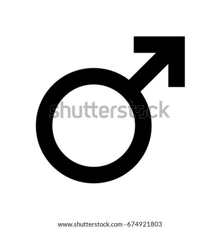 male symbol icon #674921803