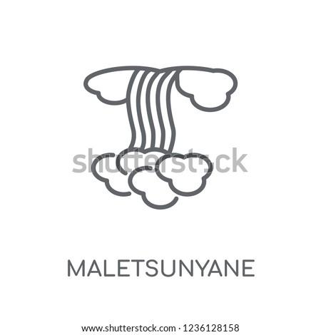 maletsunyane linear icon