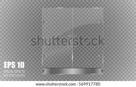 mall  store glass doors for