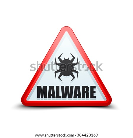 malware attention hazard sign