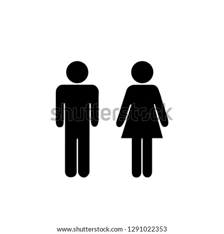man and girl icon