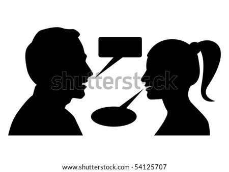 Man and woman arguing with each other