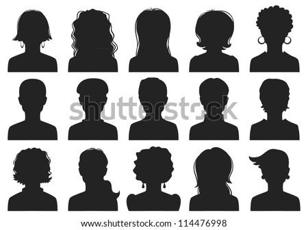 man and woman avatars