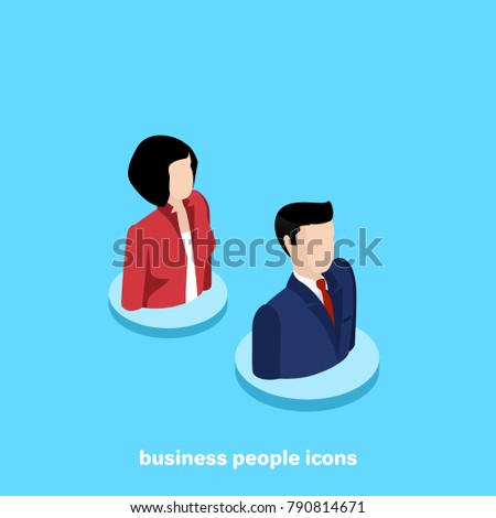 man and woman in business suits