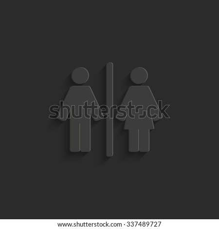Man and Woman - vector icon #337489727