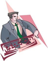 Man Character : vector illustration