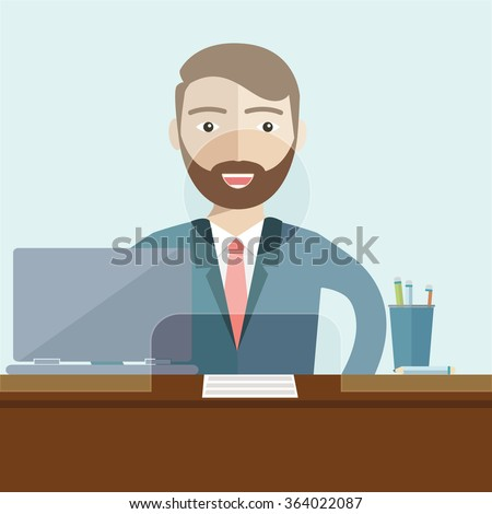 http://image.shutterstock.com/display_pic_with_logo/2996312/364022087/stock-vector-man-clerk-in-a-bank-office-flat-vector-364022087.jpg