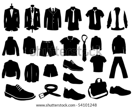 Man fashion - stock vector