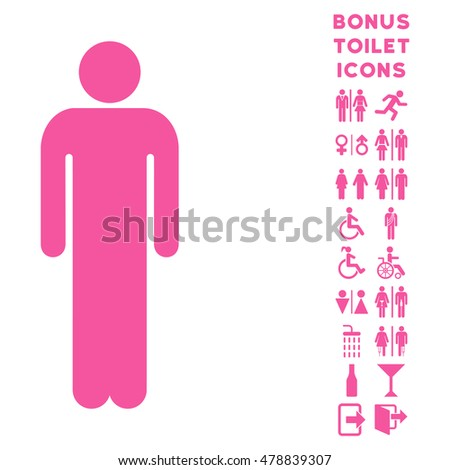 man icon and bonus gentleman