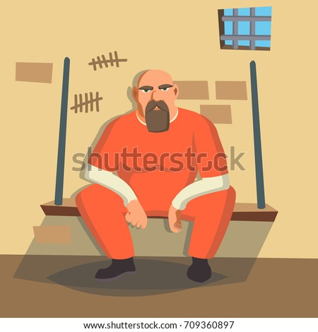 man in prison vector bandit