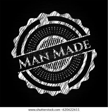 man made chalk emblem