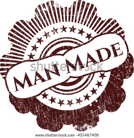 Man Made grunge seal