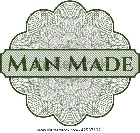 Man Made linear rosette