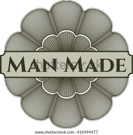 man made money style rosette