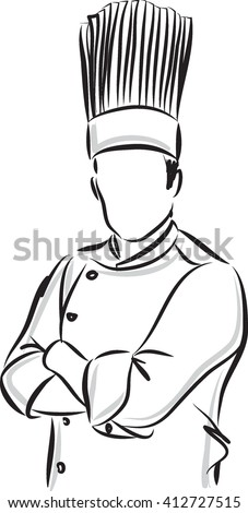 man master chef illustration