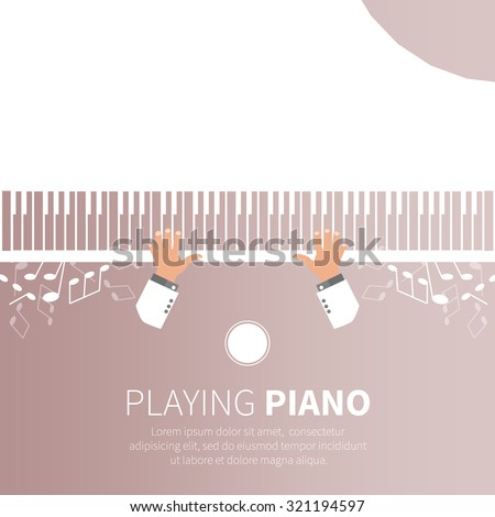 man playing piano pianist