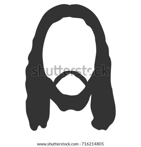 man's hairstyle  hair  a beard