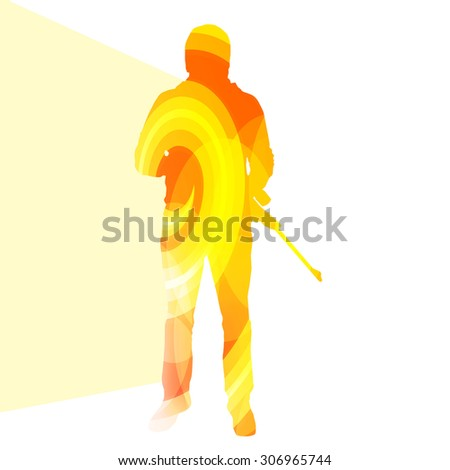 stock-vector-man-shooting-sport-hunting-silhouette-illustration-vector-background-colorful-concept-made-of