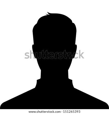man silhouette profile picture  ...