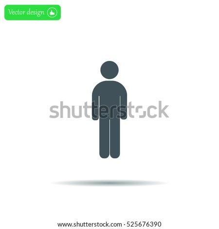 Man - vector icon