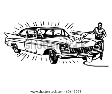 stock-vector-man-washing-car-retro-clip-art
