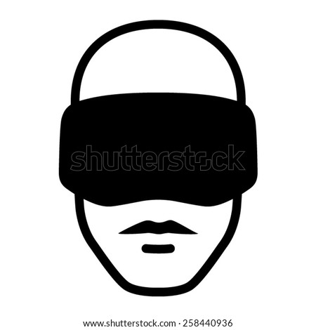 man wearing a virtual reality