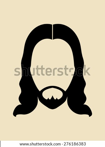 man with beards and long hair