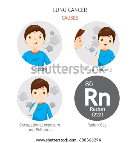 man with lung cancer causes