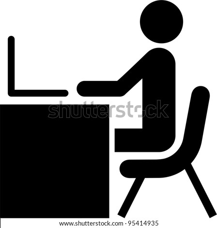 man working with the computer on a desk