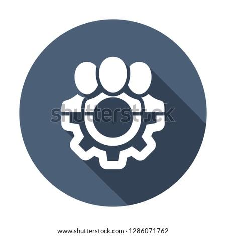 Management Icon. Teamwork management icon. Business team. Company leader, supervisor. Partnership icon. Organization workforce. Facility. Icon, supervisor, avatar, business, businessman, choice,