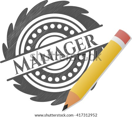 Manager draw (pencil strokes)