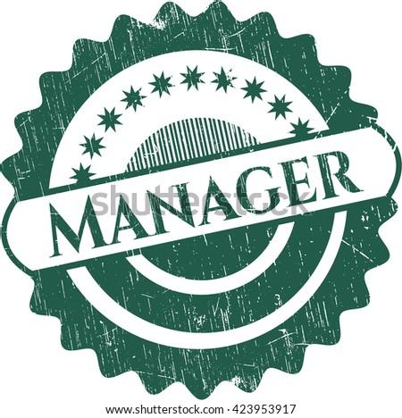 Manager grunge seal