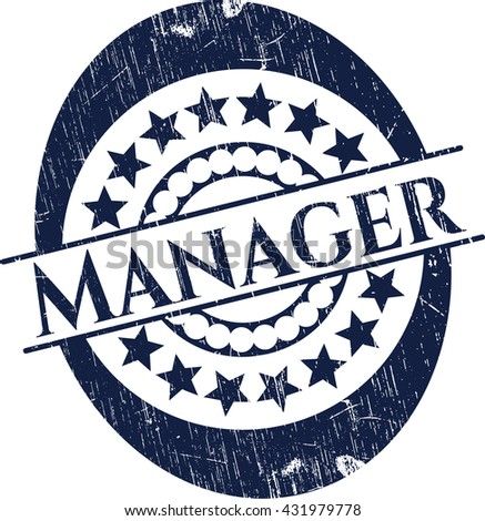 Manager rubber grunge seal