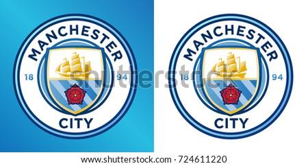 manchester city logo  vector