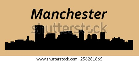 manchester  city silhouette