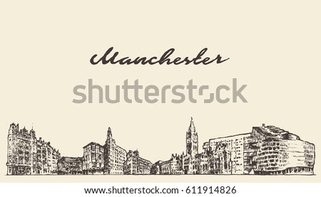 manchester skyline  greater