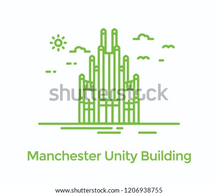 Manchester unity building also called town hall