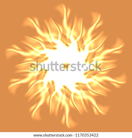 Mandala beautiful glamorous magical abstract object glow splash motion.
