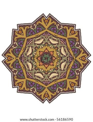 Mandala Design Stock Vector 56186590 : Shutterstock