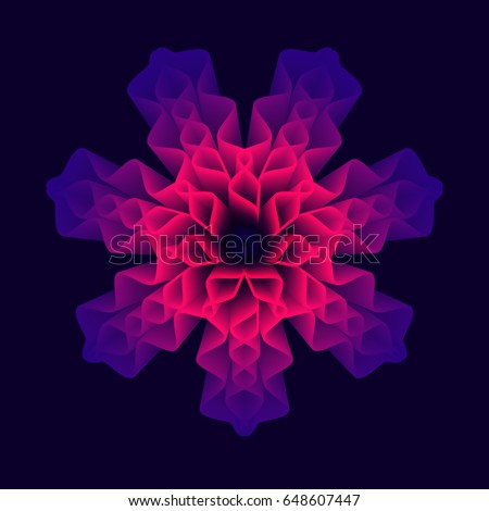 mandala flower  sacred geometry