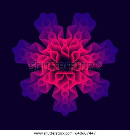 mandala flower  sacred geometry