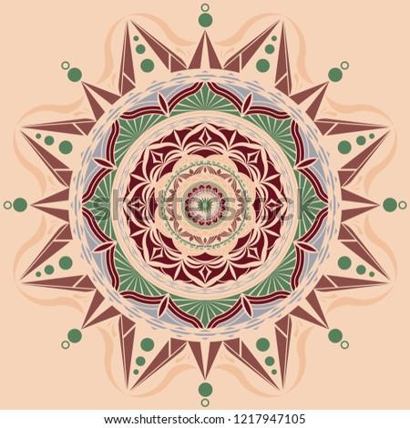 Rose Gold Mandala Background Download Free Vector Art Stock