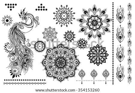 mandala set and other elements