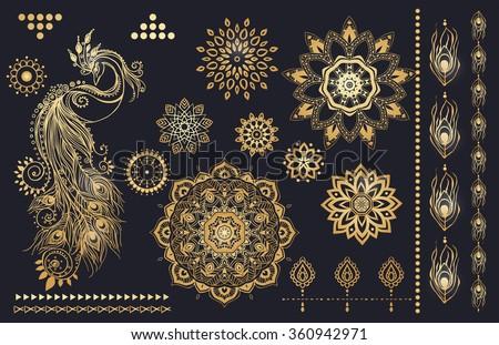 mandala set and other elements