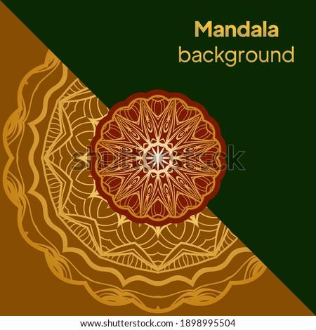 Mandalas. Decorative round ornaments. Unusual flower shape. Vector illustration