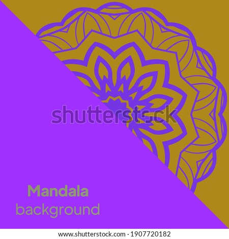 Mandalas. Decorative round ornaments. Unusual flower shape. Vector illustration