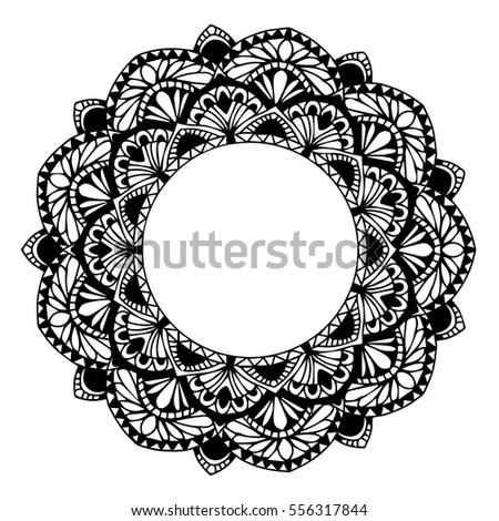 Mandalas for coloring book. Decorative round ornaments. Unusual flower shape. Oriental vector, Anti-stress therapy patterns. Weave design elements. Yoga logos,