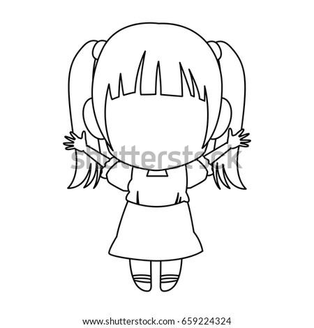 manga anime girl chibi